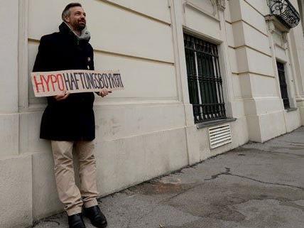Martin Ehrenhauser will seinen Protest so schnell nicht beenden.