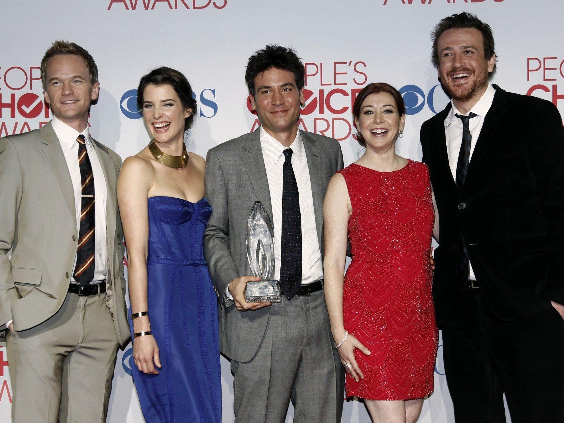 """Die Darsteller der Kultserie """"How I Met Your Mother"""" beim People's Choice Award 2012."""