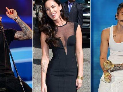 Stars und ihre Tattoos