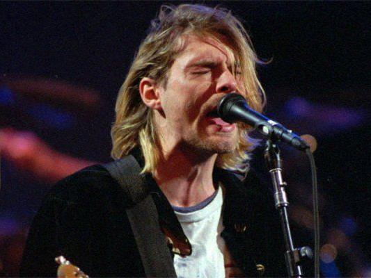 Kurt Cobain war Frontsänger der Kult-Band Nirvana.