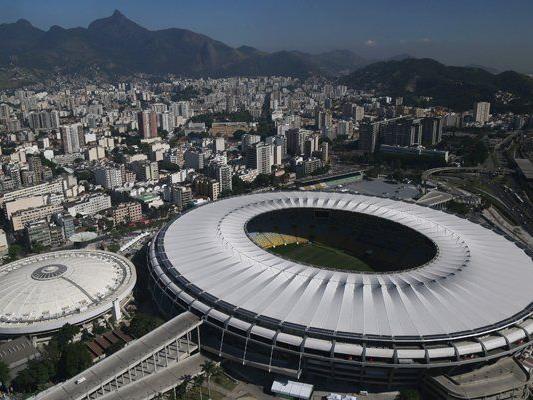 Das Maracanã-Stadion in Rio bietet über 76.800 Menschen Platz.