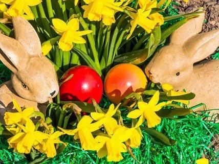 Auch am Volkertmarkt in Wien wird Ostern gefeiert.