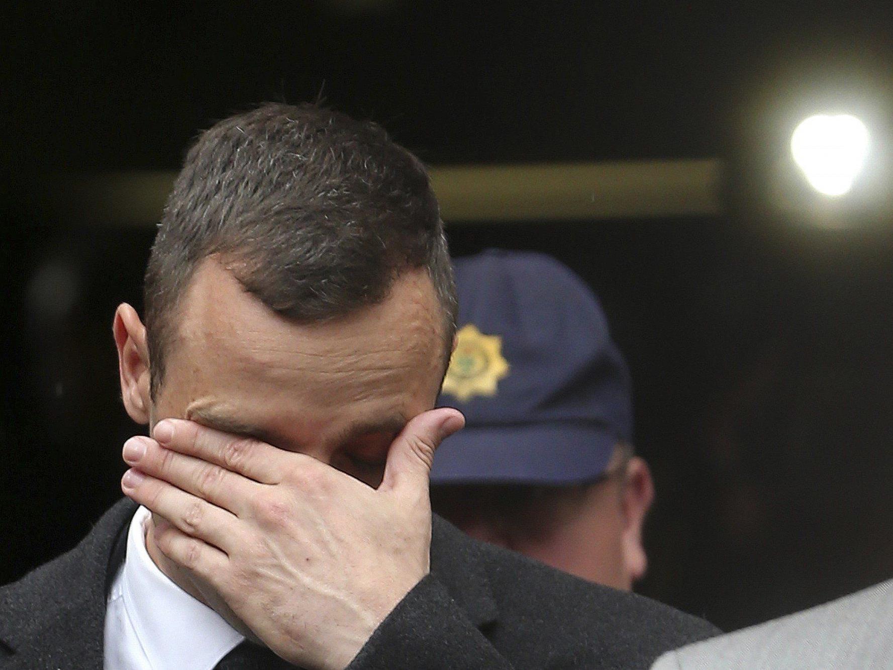 Oscar Pistorius geräht im Kreuzverhör zunehmend unter Druck.