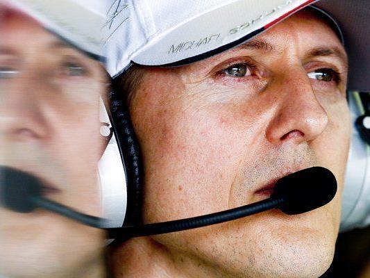 Formel 1-Rekordweltmeister Michael Schumacher beim Formel 1 Grandprix in Melbourne 2012.