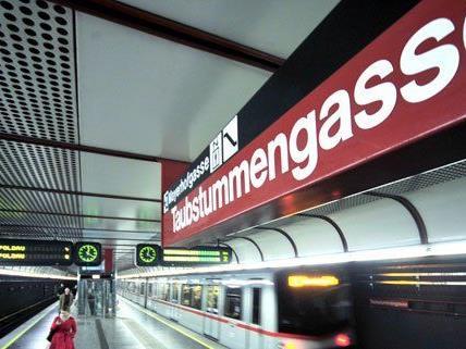 Die Station Taubstummengasse gehört nicht zu den beliebtesten in Wien.