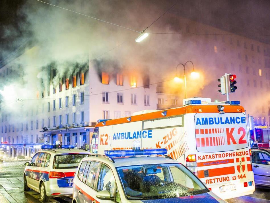 Brand mit Toter in Wien - Verdächtiger noch nicht einvernommen