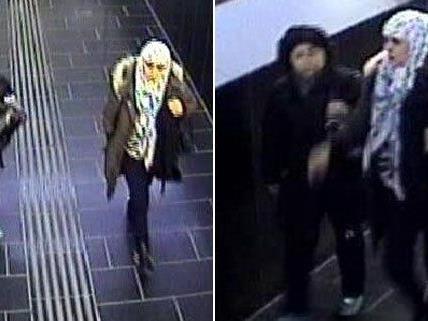 Diese beiden Frauen werden von der Polizei gesucht.