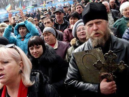 Die Situation in der Ukraine eskaliert.