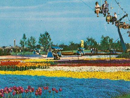 Diese Postkarte aus dem Jahr 1964 zeigt, wie bunt die WIG war.
