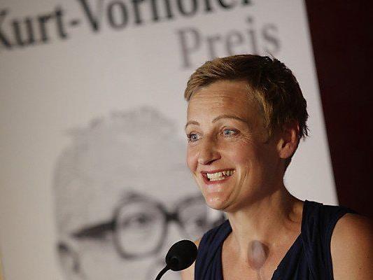 Kurt-Vorhofer-Preisträgerin Sybille Hamann