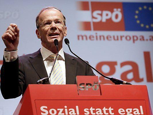 EU-Spitzenkandidat Eugen Freund