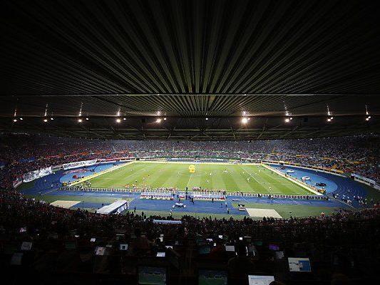 Das Happel-Stadion soll dreimal ausverkauft werden