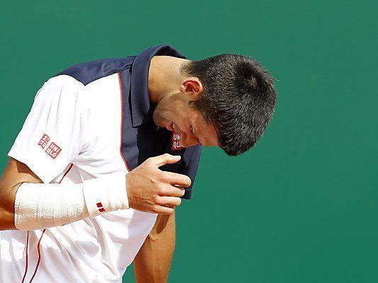 Das Handgelenk machte Djokovic zu sehr zu schaffen