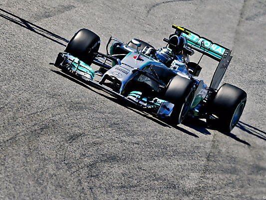 Rosberg verwies Hamilton auf Platz zwei