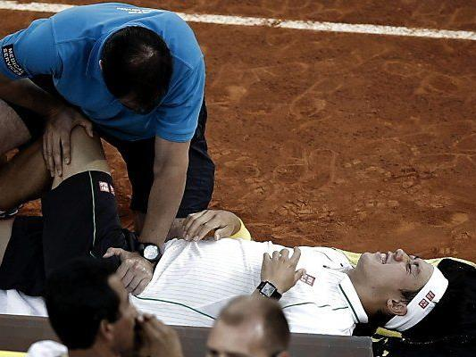 Madrid hinterließ doch seine Spuren an Nishikori