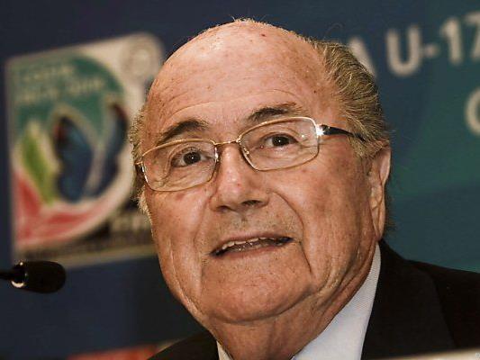 Blatter rudert zurück