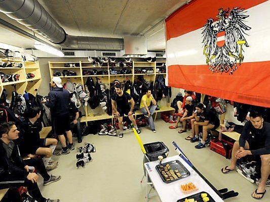 Schweres Los für ÖEHV-Nationalmannschaft in Prag