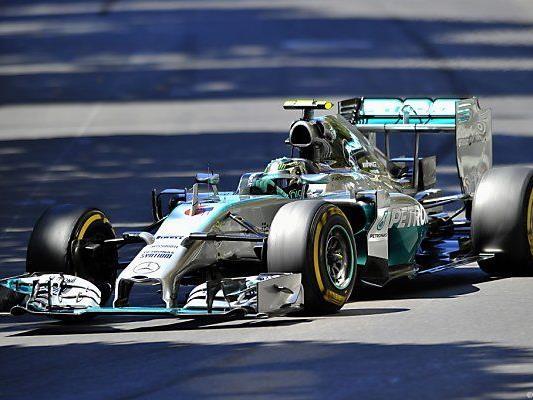 Knapper Vorsprung von Rosberg auf Teamkollegen
