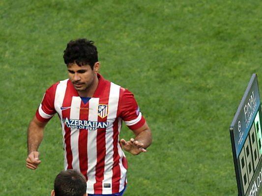 Costa musste im CL-Finale nach 8 Minuten vom Platz