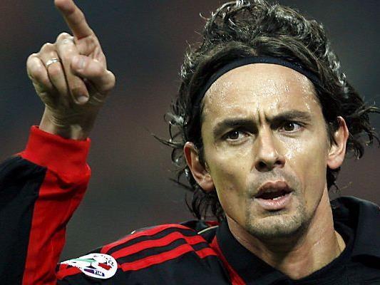 Filippo Inzaghi folgt auf Seedorf