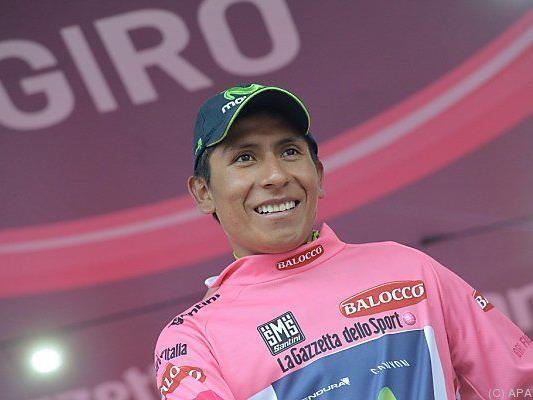 Nairo Quintana blieb Gesamtführender