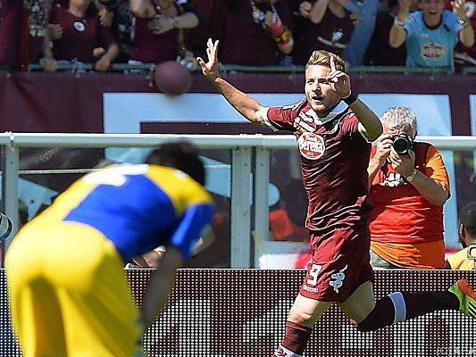Der Italiener stürmte bisher für Torino
