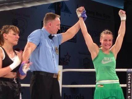 Nicole Wesner konnte in ihrem 6. Profikampf erneut siegen.