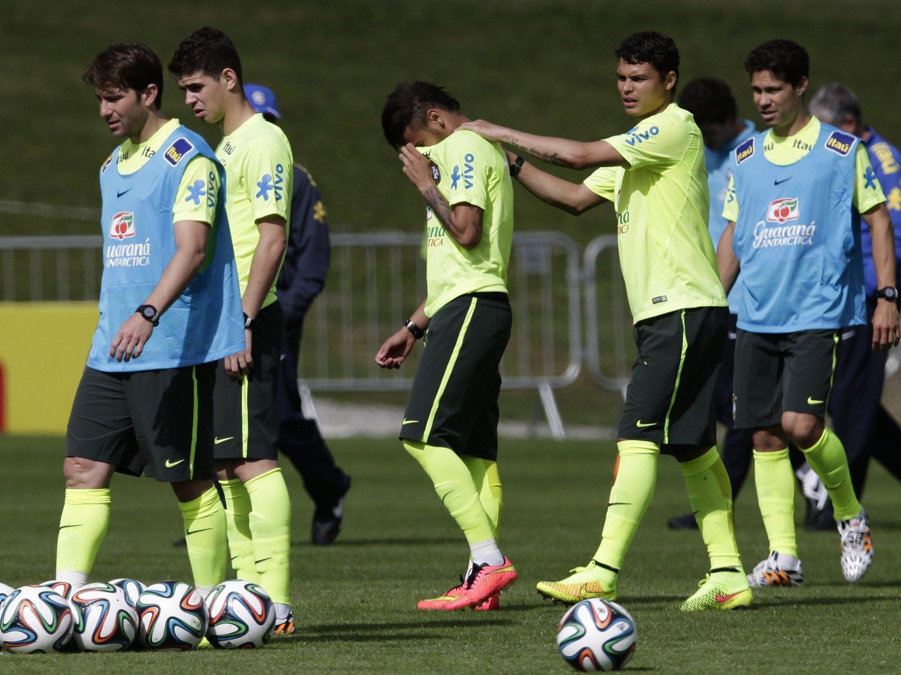 Brasilien spürt Nervosität vor WM-Auftakt gegen Kroatien.