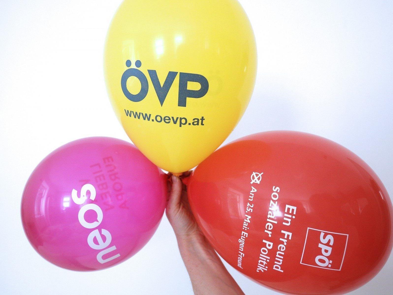 Europawahl 2014: Die Parteien sind weiterhin auf Stimmenfang.