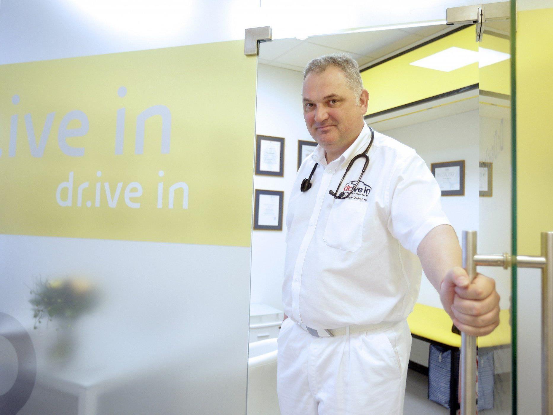 Am 1. Mai eröffnete in Wien-Döbling eine Arzt-Praxis in einer Tankstelle.
