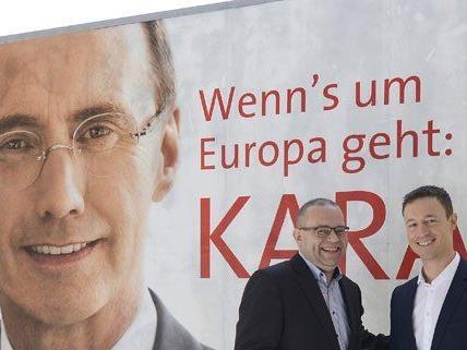 Die ÖVP präsentierte am Donnerstag die dritte Plakatwelle zur EU-Wahl.