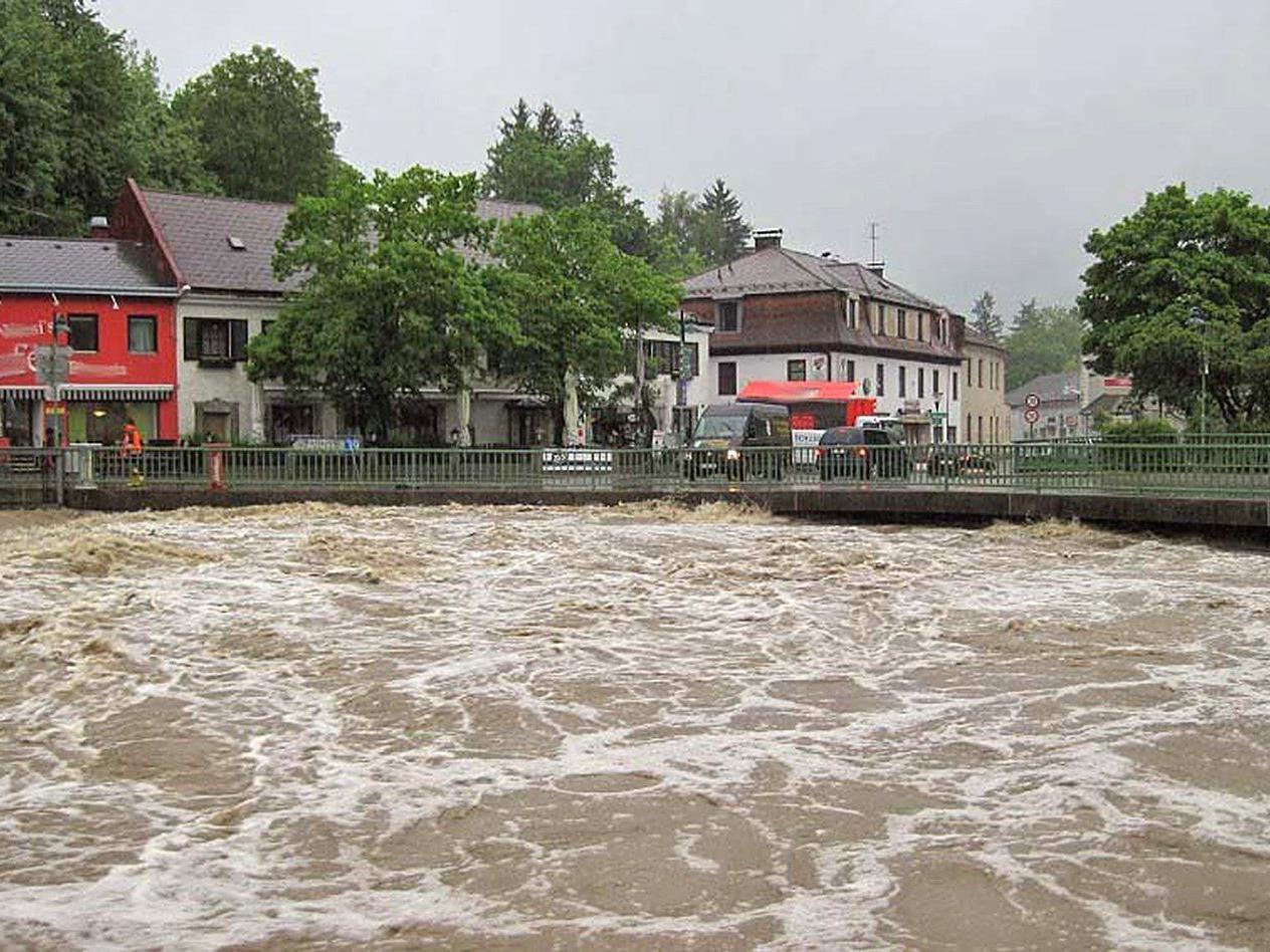 Starkregen führt zu Überflutungen
