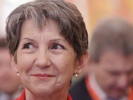 Nationalratspräsidentin Barbara Prammer ruft zur Wahlbeteiligung auf.