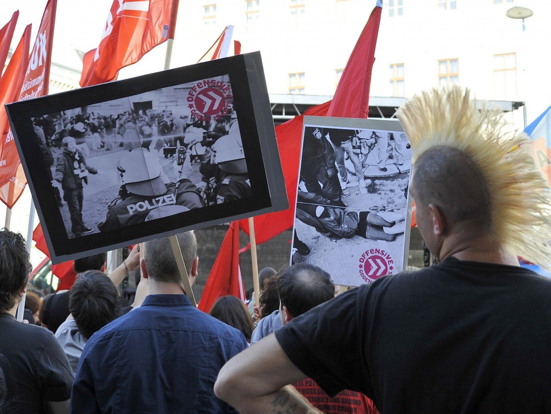 """Kaum Polizei bei Demo gegen """"Polizeigewalt"""""""