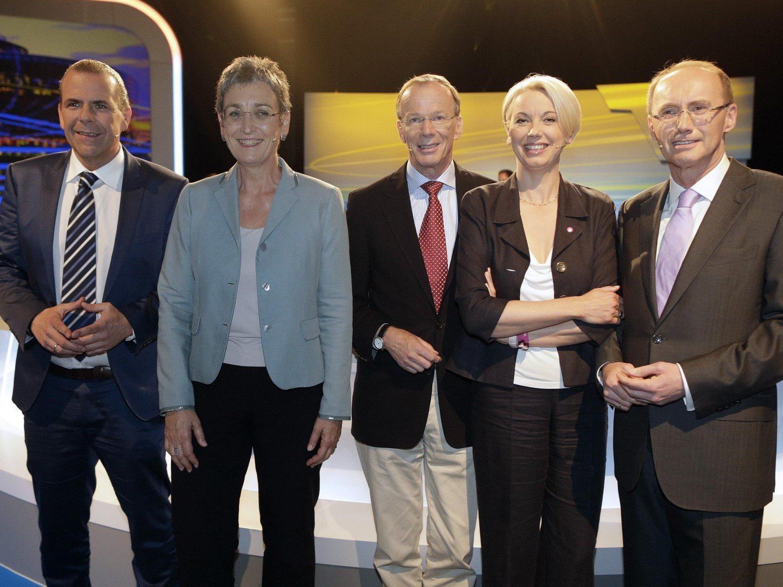 Vor der Europawahl: Der TV-Marathon der Spitzenkandidaten wurde beendet.