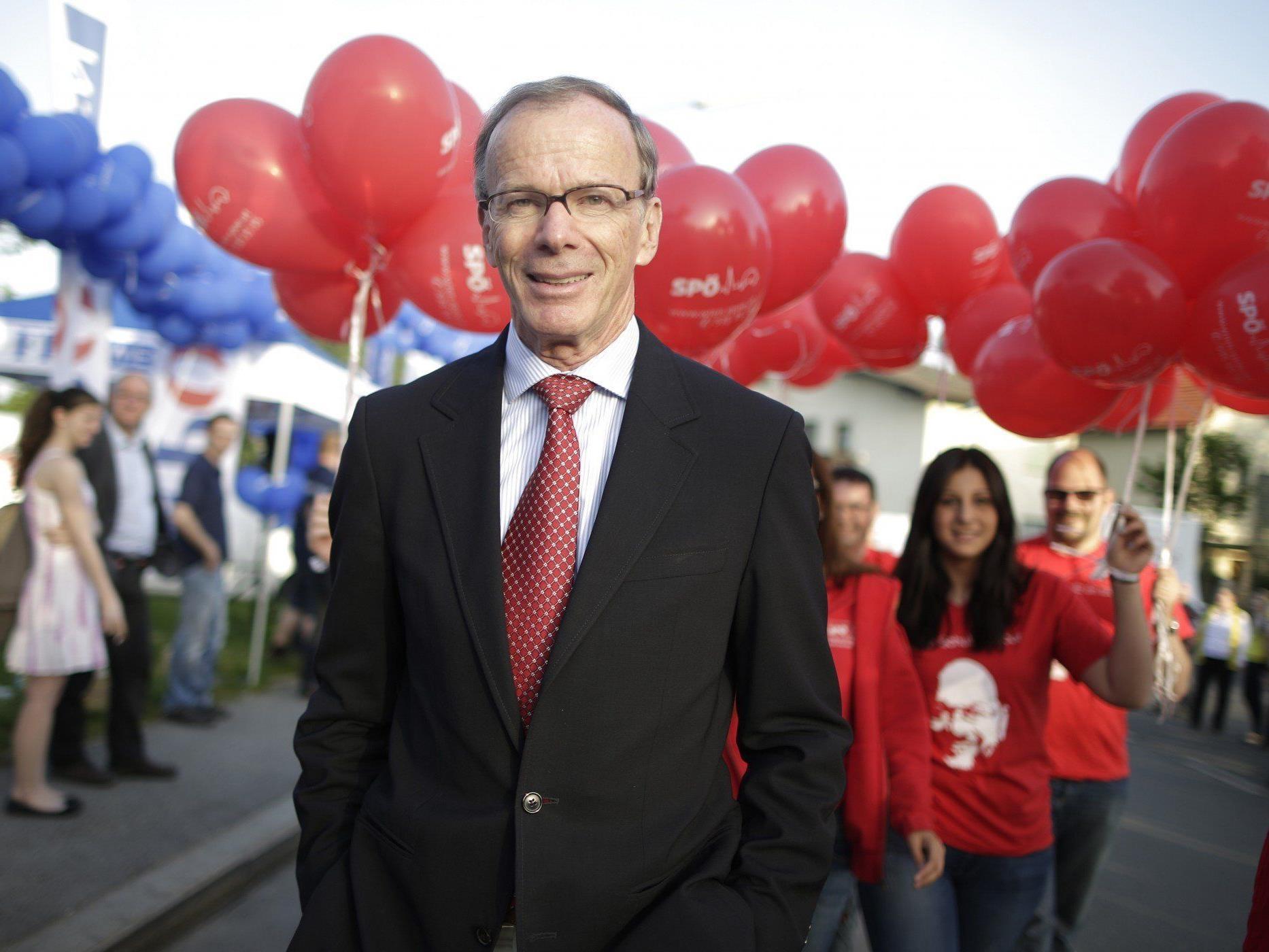 SPÖ-Spitzenkandidat Eugen Freund geht zuversichtlich in die Europawahl.