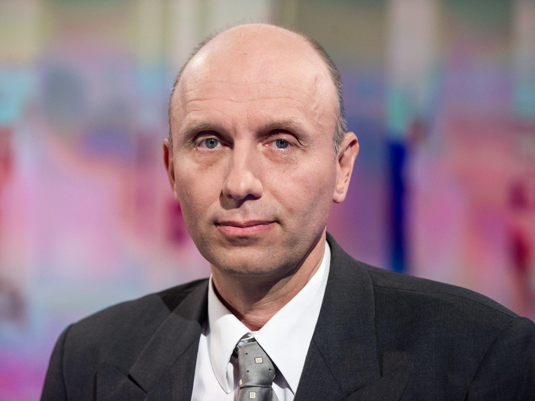 Robert marschall (Spitzenkandidat von EU-Stop) sorgte für die Überraschung bei der Europawahl 2014.