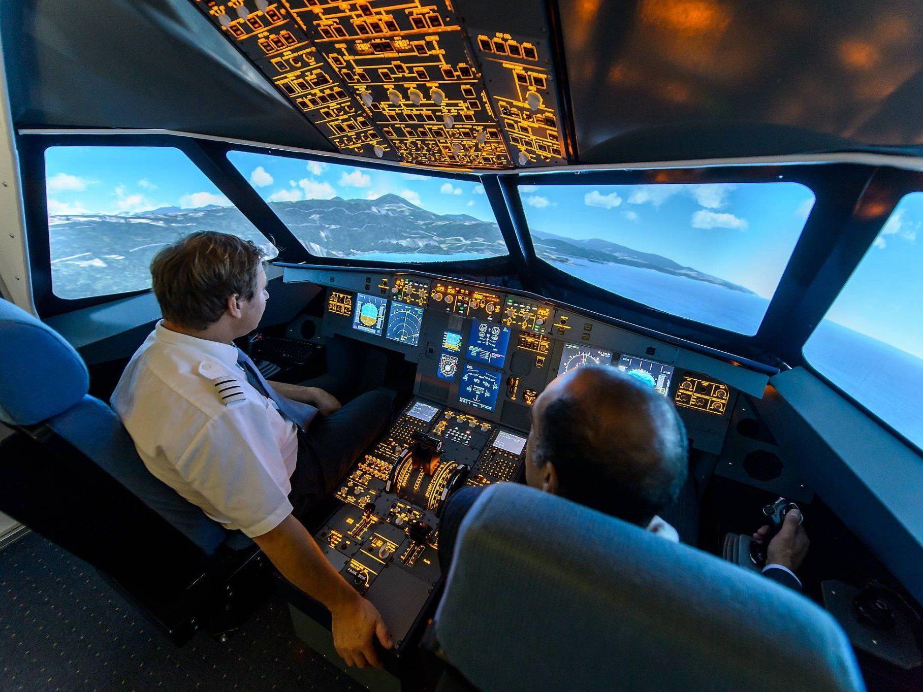 Wir verlosen einen Airbus A320-Flug zum Vatertag!