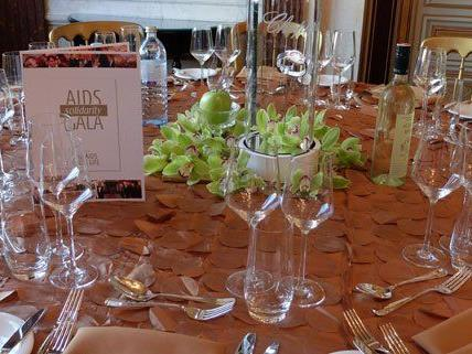 Life Ball - Schweizerhof für Solidarity Gala in voller Blütenpracht