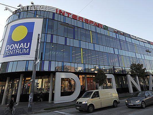 Der Zwischenfall geschah im Donau Zentrum