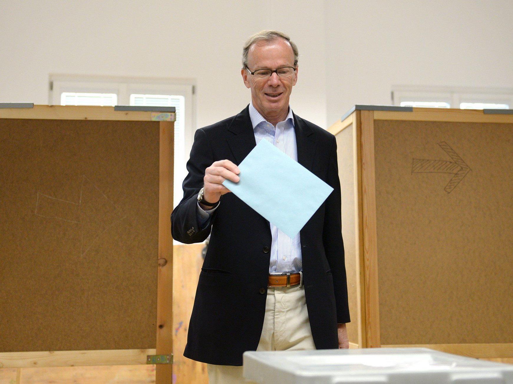 Nach schwachem Politstart für die SPÖ das Ergebnis von 2009 gehalten.