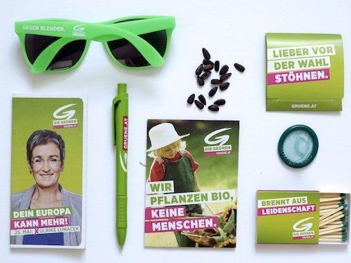Geschenke der Grünen für den Wahlkampf zur EU-Wahl