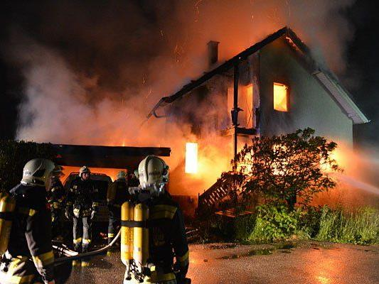 Der Brand im Bezirk Wiener Neustadt