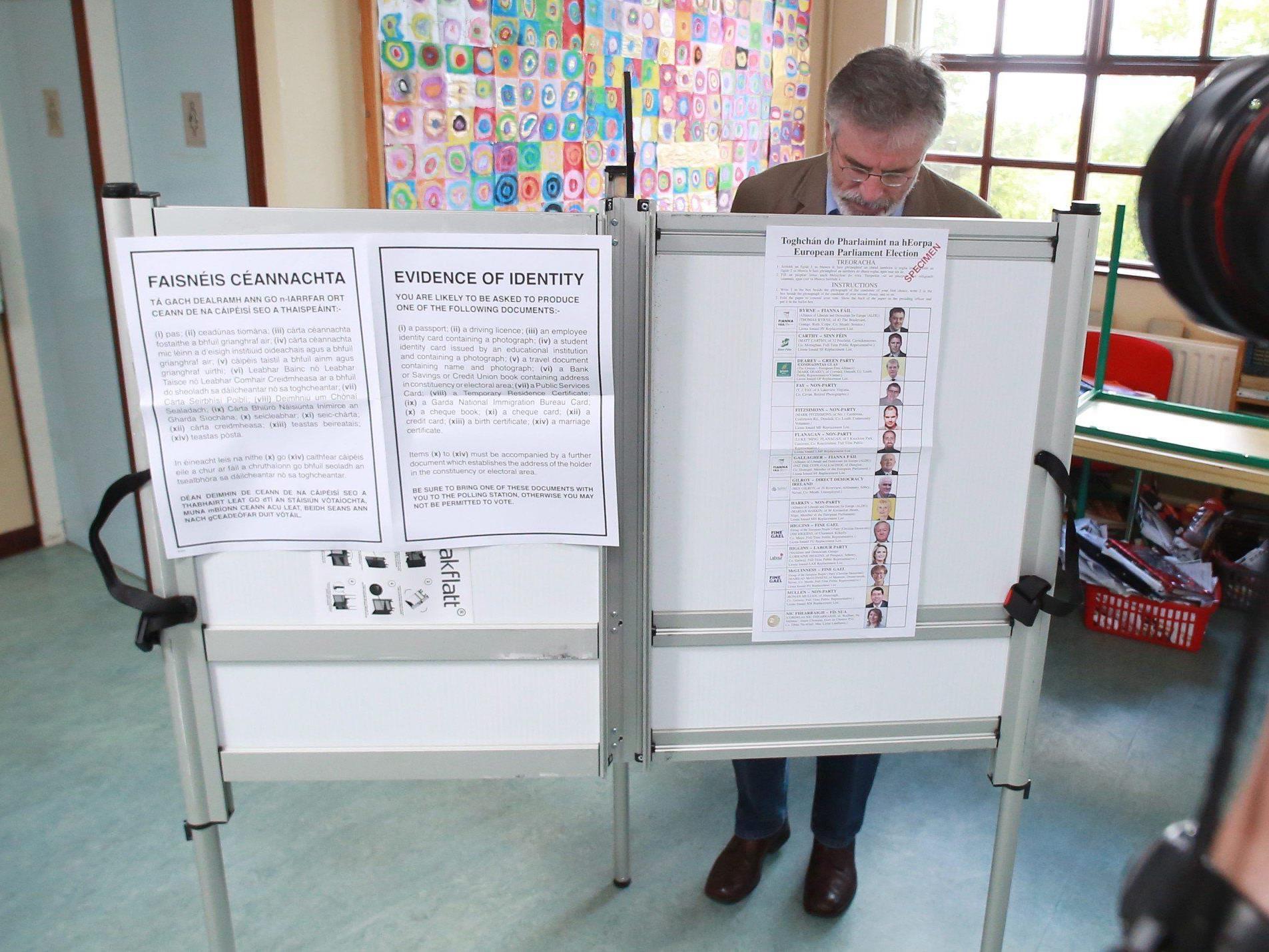 EU-Wahl - Unabhängige Kandidaten in Irland dürften stark abschneiden