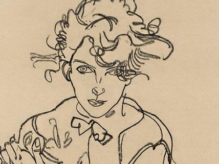 Vor allem Aktmalerei zieht sich als roter Faden durch die Ausstellung im Leopold Museum.