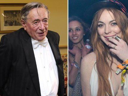 Lugner hat öfter mal Ärger mit Opernball-Gästen - Lindsay Lohan aber kam gar nicht erst