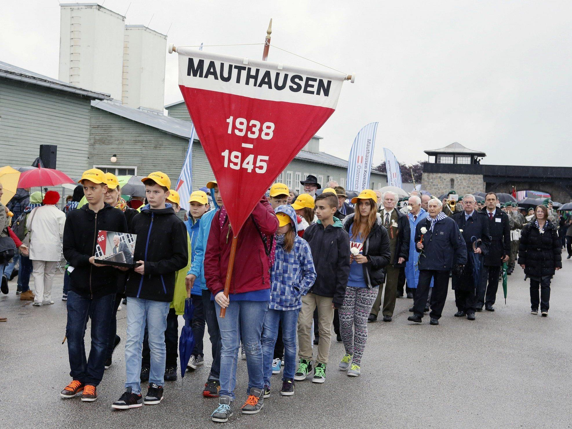 Wieder Nazi-Schmierereien an KZ-Gedenkstätte Mauthuasen - SPÖ und Grüne rufen nach politischem Gipfel.