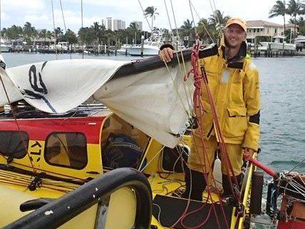 Sedlacek bricht wieder zu einer Atlantik-Überquerung auf