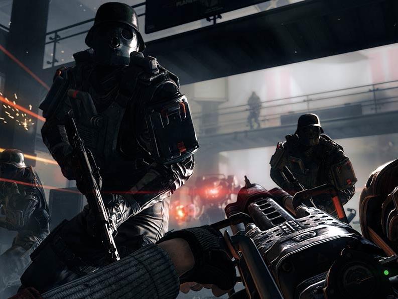 Nazi-Symbole gibt es in der europäischen Version des Spiels keine.