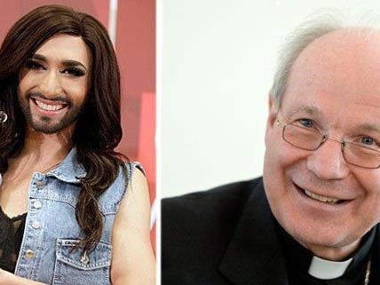 Erfreut über den Erfolg von Conchita Wurst: Kardinal Schönborn